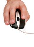 Rato e mão do computador Imagem de Stock Royalty Free