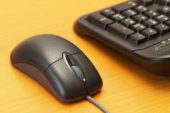 Rato e teclado Fotos de Stock