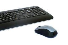 Rato e teclado Imagens de Stock