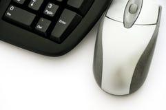 Rato e teclado Foto de Stock