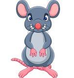 Rato irritado dos desenhos animados ilustração royalty free