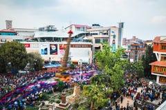 Rato Machindranath festival in Patan, Nepal Royalty Free Stock Image