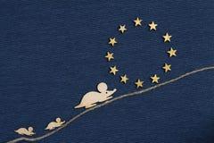 Rato na União Europeia foto de stock royalty free
