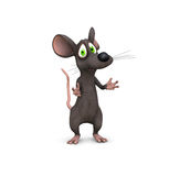 Rato que defende Fotos de Stock
