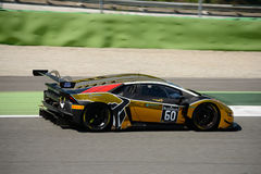 Raton Racing Lamborghini Huracan GT3 at Monza. The Autodromo Nazionale Monza hosted the first endurance race of 2017 Blancpain GT Series Royalty Free Stock Images