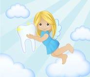 Ratoncito Pérez adorable en el ejemplo del cielo Stock de ilustración