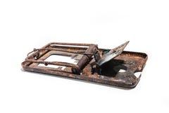 Ratonera oxidada Fotografía de archivo libre de regalías