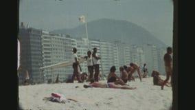 Ratownicy Przy Copacabana zbiory wideo