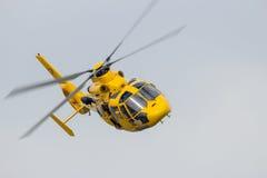 Ratowniczy helikopter Zdjęcia Royalty Free