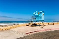 Ratownik buda w Południowym Kalifornia zdjęcie royalty free