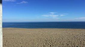 Ratownika budka przegląd nad plażą zdjęcie wideo
