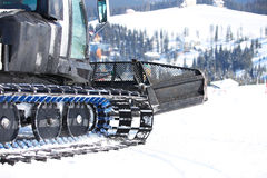 Ratrack on a ski slope Royalty Free Stock Photography