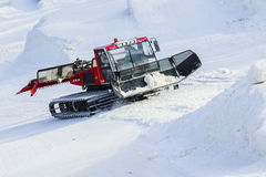 Ratrak. Preparation of a snow slope Royalty Free Stock Image