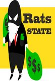 Rats State Royalty Free Stock Image