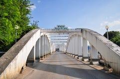 Ratsadaphisek bridge. In Lampang Thailand Royalty Free Stock Photography