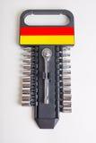 Ratschen- und Sockelsatz Lizenzfreie Stockfotografie