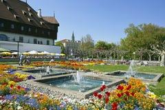 Ratsgebäude in Constance bei Bodensee stockfotos