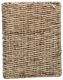 Rattan. Decorative rattan basket, furniture, background Stock Photography