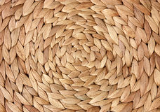 Rattan. Circle from the rattan fibres Stock Photo