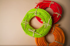 Rattan background Royalty Free Stock Photography