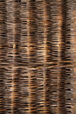 Rattan background. Texture with copy space Stock Image