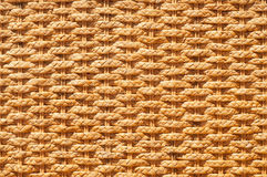 Rattan background. Texture of rattan weave background. Close-up Royalty Free Stock Photography