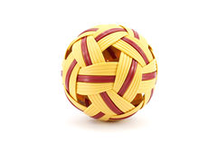 Rattan ball Royalty Free Stock Image