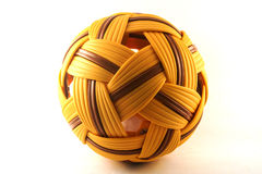 Rattan ball. Stock Image