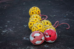 Rattan ball Royalty Free Stock Photography