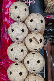 Rattan ball Royalty Free Stock Photos