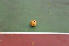Rattan ball Stock Photo