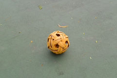 Rattan ball Stock Photo