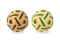 Rattan ball for sepak takraw Royalty Free Stock Photography
