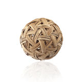 Rattan ball the southeast asia sports Royalty Free Stock Images