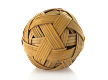 Rattan ball used in asia sport Royalty Free Stock Images