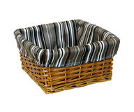 Rattan basket Royalty Free Stock Photography