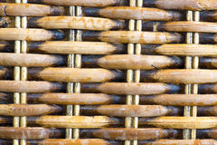Rattan Basket close up Royalty Free Stock Image