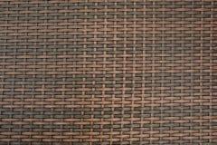 Rattan Basket close-up texture. Royalty Free Stock Photography