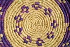 Rattan basket royalty free stock images