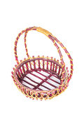 Rattan Basket Royalty Free Stock Image