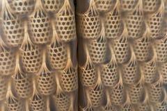 Rattan Basket Royalty Free Stock Photography