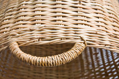 Rattan basketry Royalty Free Stock Photo
