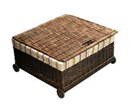 Rattan box Stock Photography