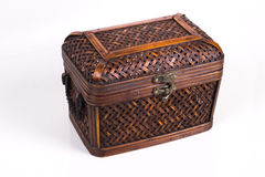 Rattan Box 3 Royalty Free Stock Photography