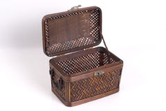 Rattan Box 4 Royalty Free Stock Photos