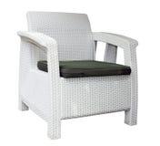 Rattan chair Stock Photo