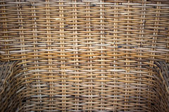 Rattan chair Royalty Free Stock Photos