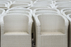 Rattan chairs Stock Image