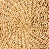 Rattan circular texture Stock Image