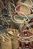 Rattan craft Royalty Free Stock Photography